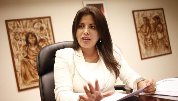 Carmen Omonte aclaró que el Organismo Público de Pensiones, a crearse con la reforma promovida por el Parlamento, se encargará solo de la administración del sistema, mas no del manejo de fondos (Foto: GEC)