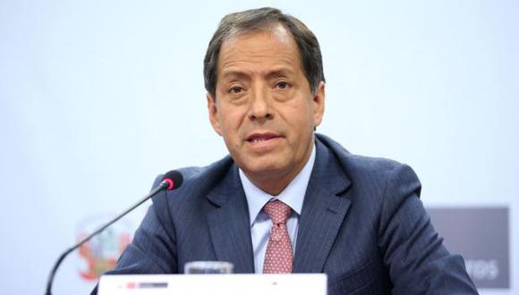 Edgar Quispe, director ejecutivo de la Autoridad de Reconstrucción con Cambios.