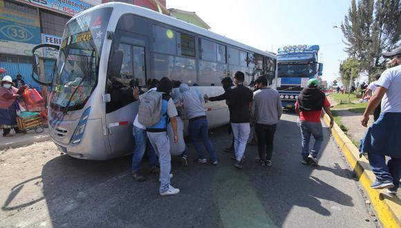 El paro de transportistas está afectando la economía peruana. (Foto: GEC)