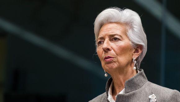 """""""Probablemente hemos pasado el punto más bajo y lo digo con cierta inquietud, porque, por supuesto, podría haber una segunda ola severa"""", dijo Lagarde en un evento en línea. (Bloomberg)"""