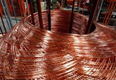 Producción de cobre crece 1.9% pero oro desciende 6.5% entre enero y julio
