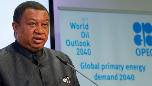 Secretario general de la OPEP, Mohammed Barkindo. (Foto: Reuters)