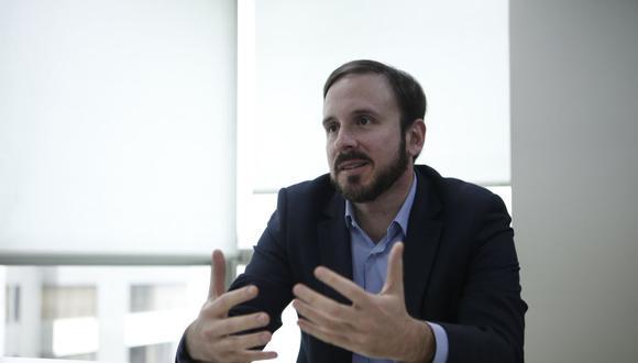 Franco Bulnes, gerente general de Eaton Perú. (Foto: Manuel Melgar / GEC )