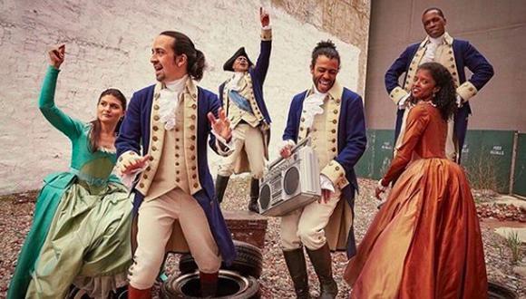 """Hamilton"". (Foto: Difusión)"
