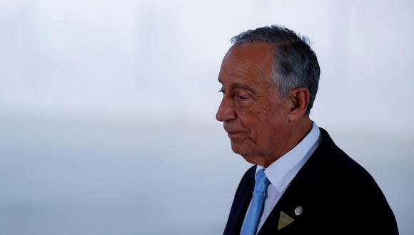 Marcelo Rebelo, presidente de Portugal. (Foto: EFE).