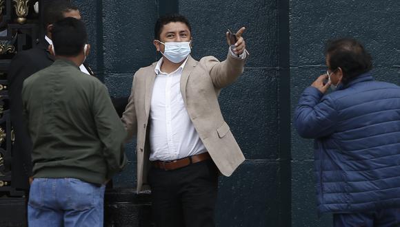 Bermejo es actualmente congresista de la bancada de Perú Libre. (Foto: archivo GEC)