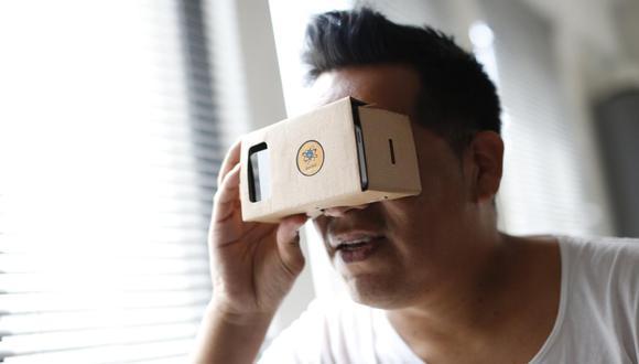 Realidad virtual. (Foto: Percy Ramírez).