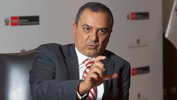 Carlos Oliva, exministro de Economía. (Foto: GEC)