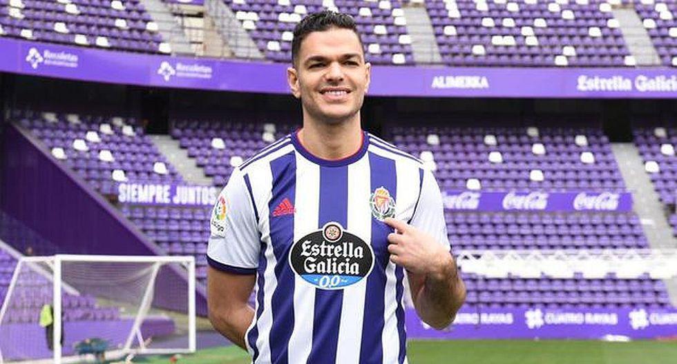 4.- Hatem Ben Arfa (Real Valladolid), en 5.4 millones de dólares. (Foto: Agencias)