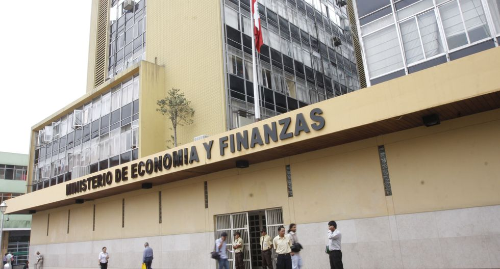 Sede del Ministerio de Economía y Finanzas. (Foto: GEC)