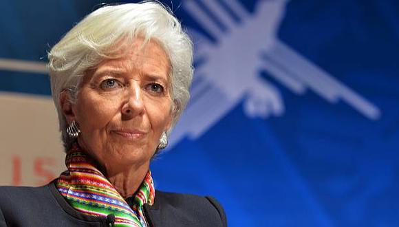 """Lagarde aseguró que en caso de un agravamiento de la situación económica el BCE no ha agotado todas sus posibilidades y """"si hay que hacer más, haremos más"""". (FOTO: AP)"""
