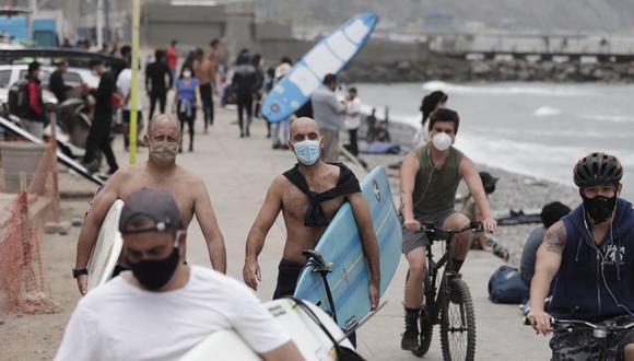 El verano acentúa la movilidad hacia las playas, pese a las restricciones por el COVID-19. (Foto: Leandro Britto | GEC)