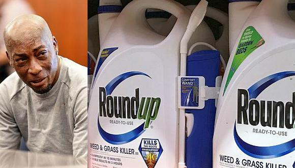 Dewayne Johnson dice que los productos de Monsanto, en especial elRoundup, provocaron el cáncer que padece. La justicia de EE.UU. falló a su favor. (Fotos: AFP/Reuters)