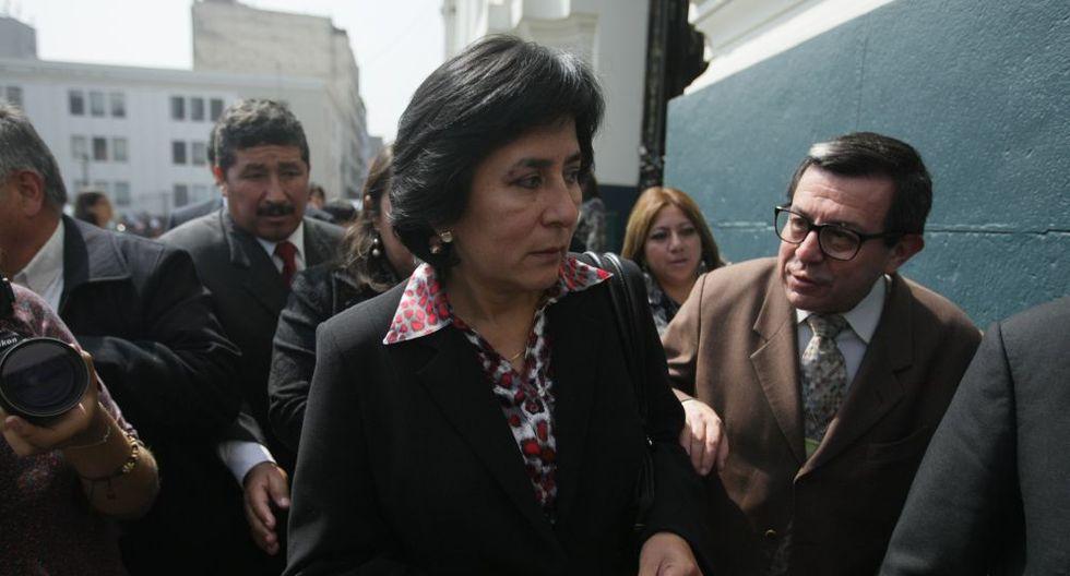 Marianella Ledesma, miembro del TC. (Foto: GEC)