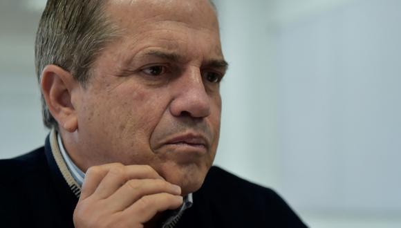 El excanciller del gobierno de Rafael Correa, Ricardo Patiño, salió de su país con el Perú como destino. (Foto: AFP)