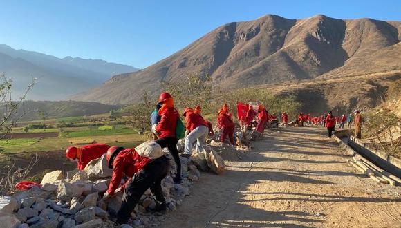 Para trabajos en Huánuco se tiene previsto una inversión ascendente a  S/ 29,000 millones. (Foto: MTPE).