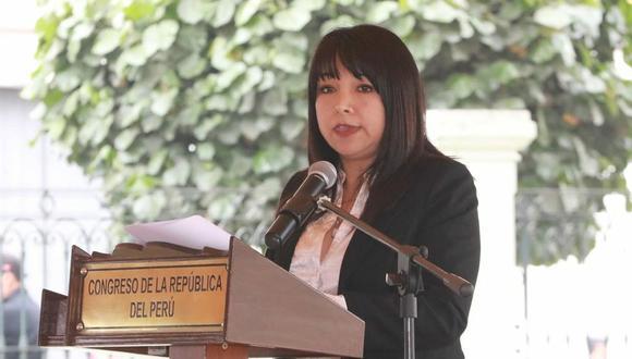 Mirtha Vásquez dijo que el Congreso no debería esperar el plazo máximo para responder al TC por la ONP. (Foto: Congreso)