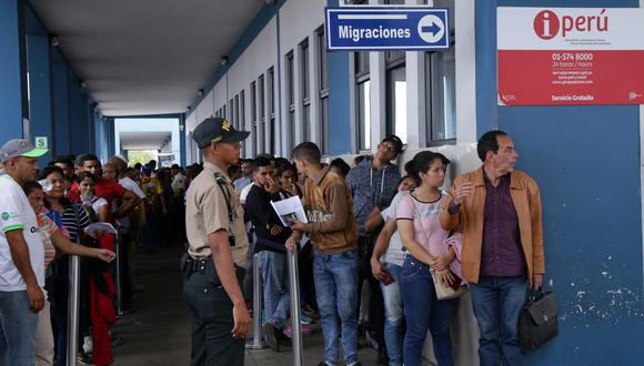 La emisión del carné de extranjería se da en el marco de la emisión de la visa humanitaria. (Foto: EFE)