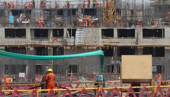 Construcción. El ingreso promedio mensual de esta actividad creció en S/ 203.5 entre enero y marzo de este año, según el INEI. (Foto: GEC)