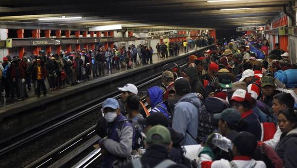 Migrantes en Estados Unidos (Foto: EFE)
