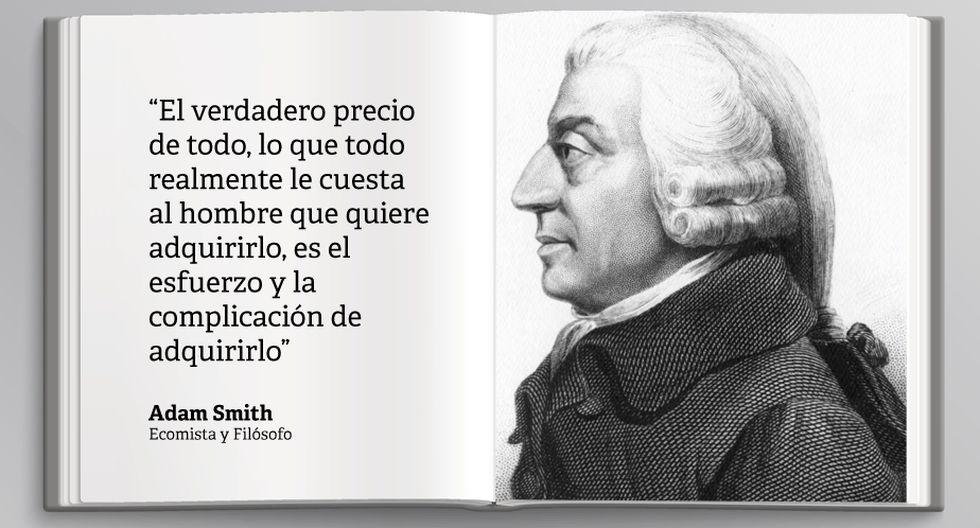 Adam Smith Diez Frases Potentes Del Autor De La Riqueza De