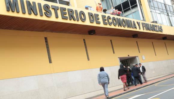 El Ministerio de Economía y Finanzas (MEF). (Foto: Diana Chávez | GEC)