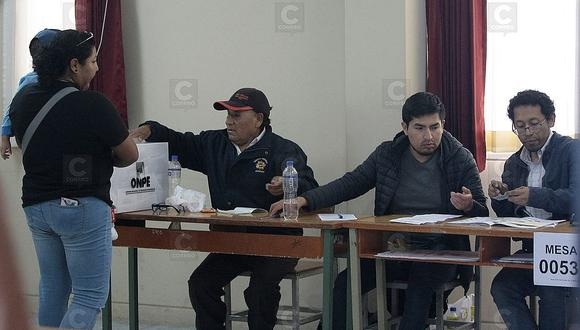 Los miembros de mesa cobrarán S/120 soles por cada jornada, en primera y segunda vuelta, de manos de la ONPE. (Foto: GEC)