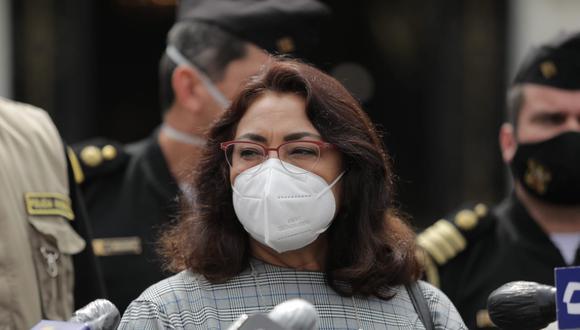 Violeta Bermúdez comenzará a reunirse con las bancadas días antes de que se vote la confianza a su gabinete. (Foto: Antonhy Niño de Guzmán)
