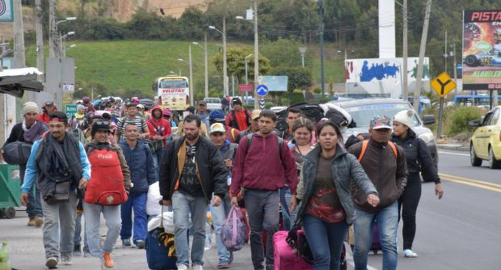 El alto comisionado para los refugiados, Filippo Grandi, y el director de la OIM, William Swing, dijeron que les preocupa las nuevas medidas migratorias en Perú y Ecuador, para los venezolanos. (Foto: EFE)