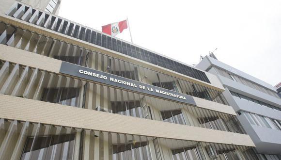 Sede del Consejo Nacional de la Magistratura (CNM). (Foto: USI)