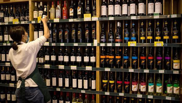 Australia fue el principal exportador de vino hacia China en el primer semestre del 2020 en volumen, por delante de Francia y Chile, según la Cámara china de Comercio de Alimentos (CFNA). (Foto: AFP)