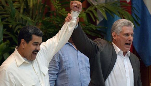 Cuba y Venezuela son estrechos aliados políticos y económicos desde la llegada del fallecido expresidente Hugo Chávez al poder venezolano en 1999. (Getty Images).