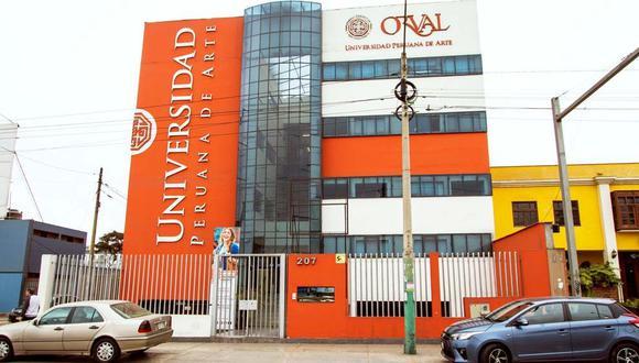 Sede de la universidad Orval. (Foto: Sunedu)