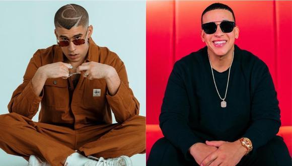 """""""Gasolina"""", co-escrita por el veterano artista urbano Eddie Ávila, aparece en el disco """"Barrio Fino"""" (2004), de Daddy Yankee, mientras que """"Safaera"""" está en el álbum """"YHLQMDLG"""" (2020), siglas de """"Yo Hago Lo Que Me Dé La Gana"""", de Bad Bunny. (Foto: Instagram)"""