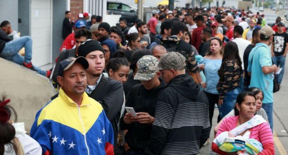 Desde hoy los venezolanos que lleguen al Perú deberán presentar pasaporte o visa humanitaria, medida anunciada por el presidente Martín Vizcarra. (Foto: GEC)