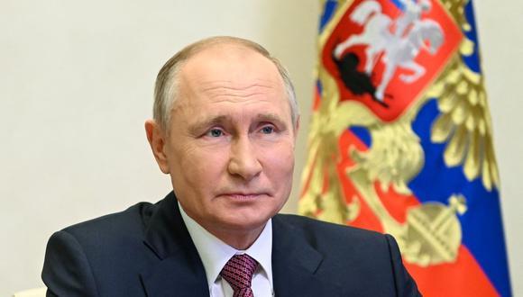 El presidente de Rusia Vladimir Putin. (Foto: ALEXEY NIKOLSKY / SPUTNIK / AFP).