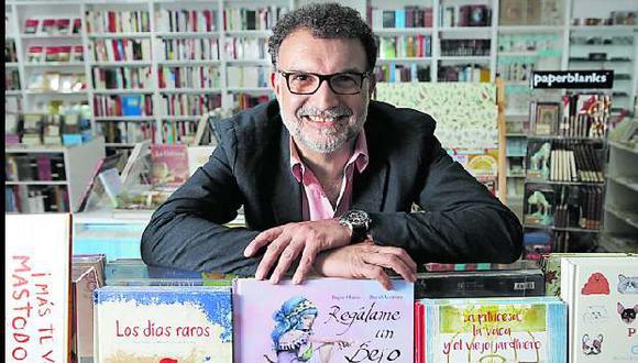 Guillermo Rivas, gerente general de Books & Co. y Book Vivant, ha lanzado un nuevo proyecto.