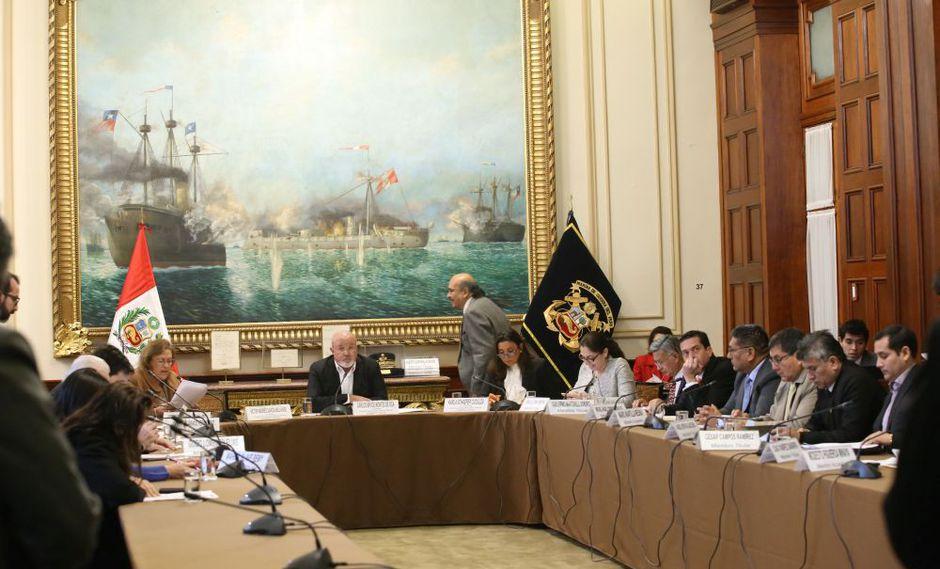 La Comisión de Economía del Congreso tuvo hoy su primera sesión ordinaria del período 2018-2019. (Foto: Congreso)
