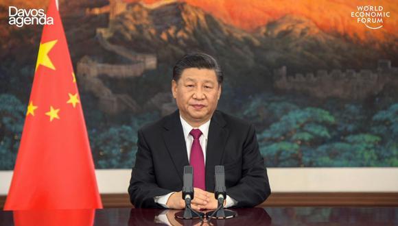 El mandatario chino también pidió en su discurso medidas para reducir la creciente brecha entre economías desarrolladas y en desarrollo. (AFP)