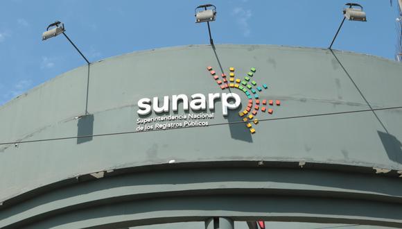 Sunarp. (Foto: GEC)
