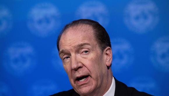 David Malpass. (Foto: AFP)