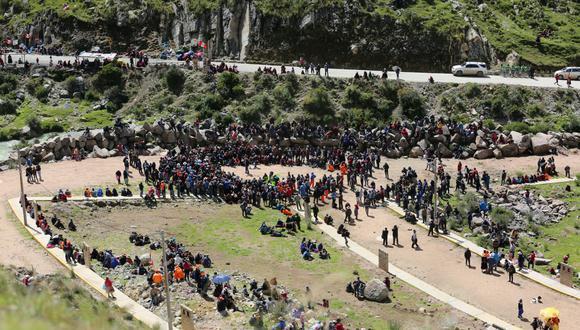La Policía Nacional se pronuncia sobre lo ocurrido en Pumamarca. (Foto: Antonio Álvarez)