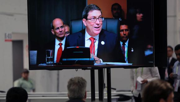 Bruno Rodriguez, embajador de Cuba. (Foto: AFP)