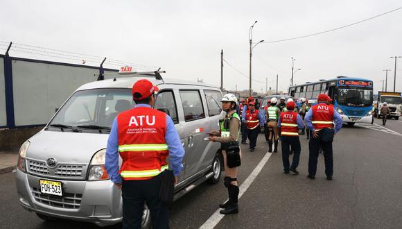 La ATU dispuso a mediados de marzo que solo funciones el 50% de las flotas de transporte público para asegurar la movilidad de las personas en medio de la pandemia. (Foto referencial/ATU)