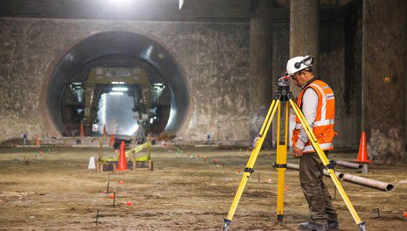 Construcción del Metro Línea 2