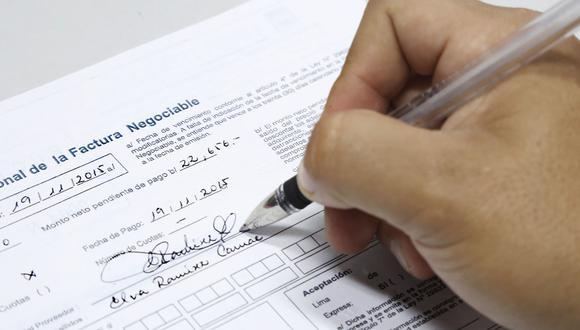 Lima fue la región con mayor proporción de facturas negociadas. (Foto: Difusión)