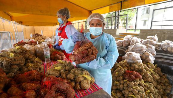 Los mercados estarán distribuidos en 23 regiones del país, incluyendo Lima Metropolitana y Callao. (Foto: Midagri)