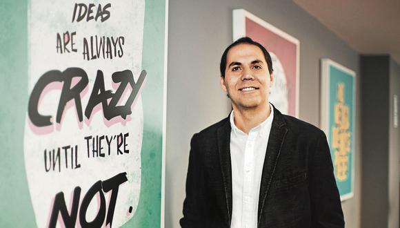 Objetivos. Tapia asegura que más allá de los resultados económicos de la empresa, lo importante es trascender. (Foto: Difusión | Siderperú)