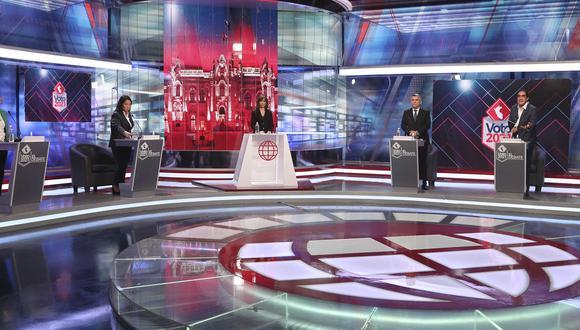 El Debate tuvo repercusión en las redes sociales. (Foto: América TV)