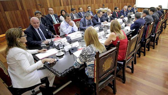 Eduardo Ferreyros, titular del Mincetur (segundo, desde la izquierda). (Foto: Difusión)